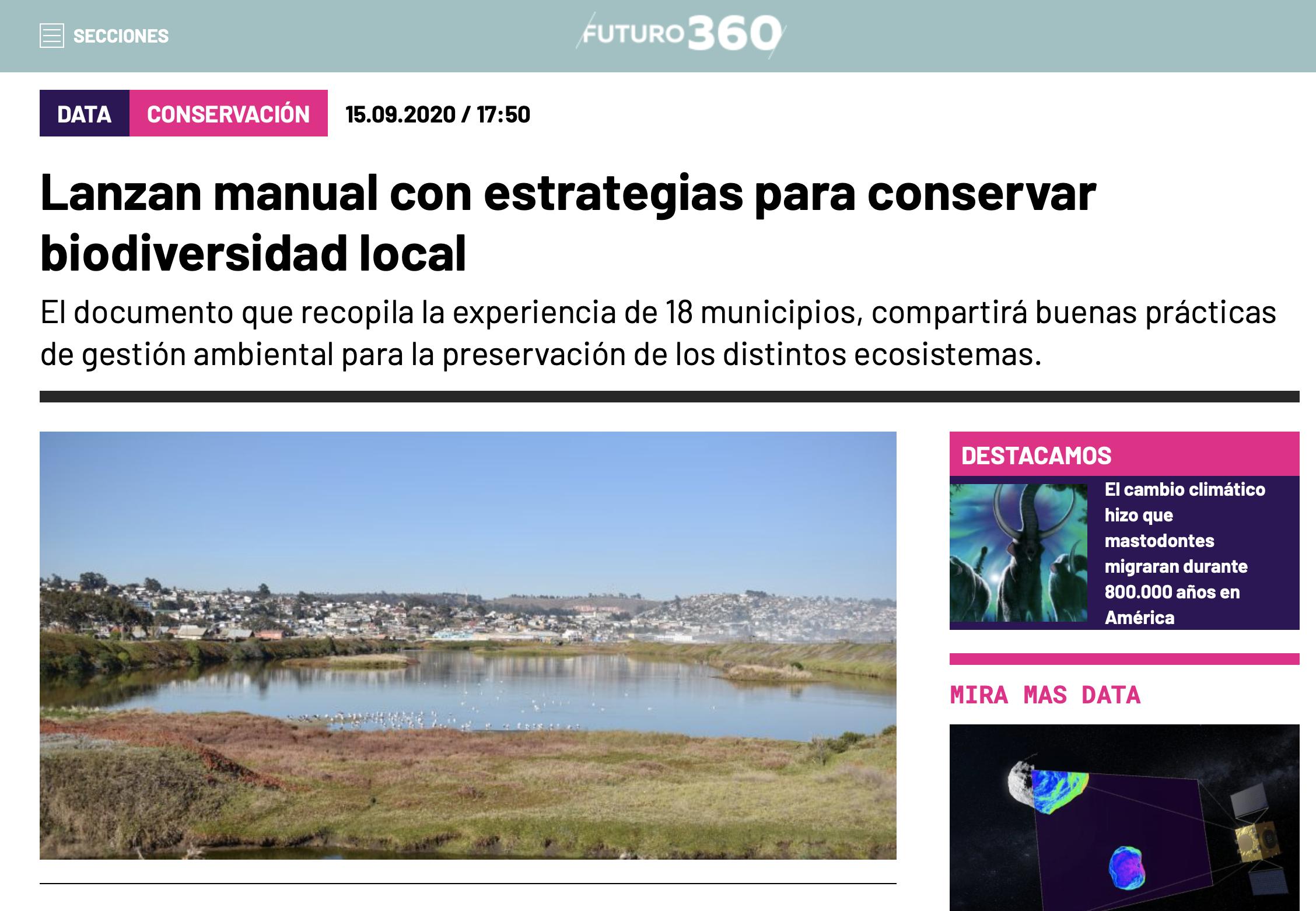 Lanzan manual con estrategias para conservar biodiversidad local