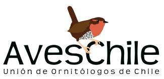 Logo Unión de Ornitólogos de Chile: Aves Chile